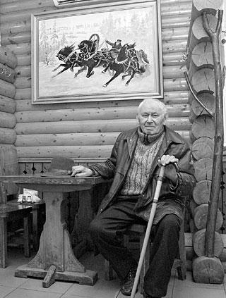 """П.Ф. Ступак и его картина """"Тройка"""""""