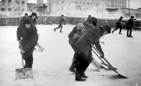 Дворовый хоккей