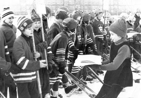 Хоккеисты школы №9. 1984 г.