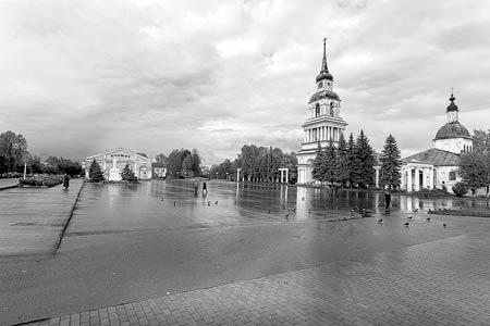Иллюстрация слобожанина из альбома «Кировская область | Kirov Region»