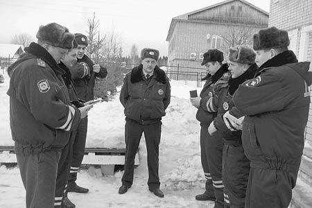 Новый командир взвода ДПС С.Д. Полищук