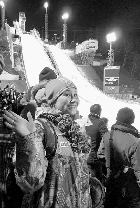 Волонтер сочинской Олимпиады