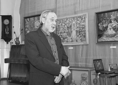 Кировский художник Д.Н. Сенников и его выставка картин