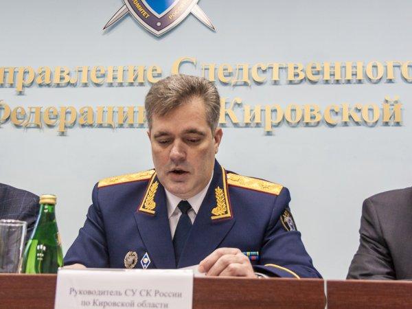 Глава СУ СК по Кировской области Григорий Житенев.