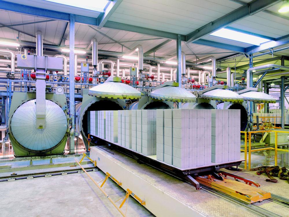 Автоклавный газобетон - производственная линия и автоклава